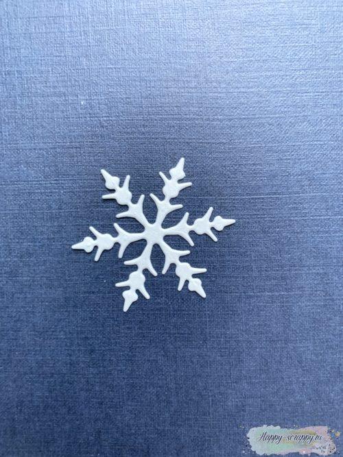 Снежинка №1