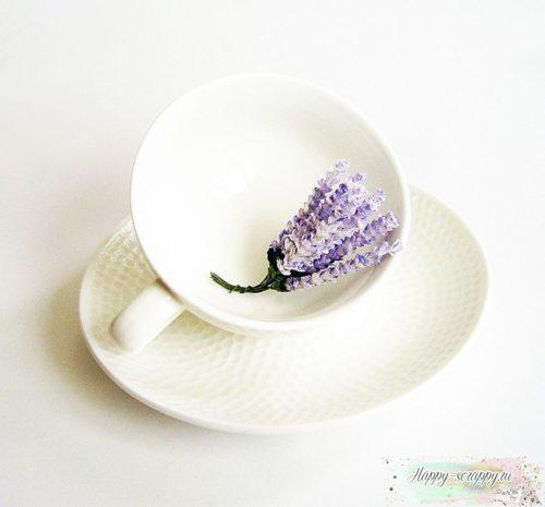 Цветы лаванды - сиреневые (5шт)