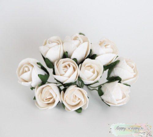 Бутоны роз полу раскрытые большие 1 шт.