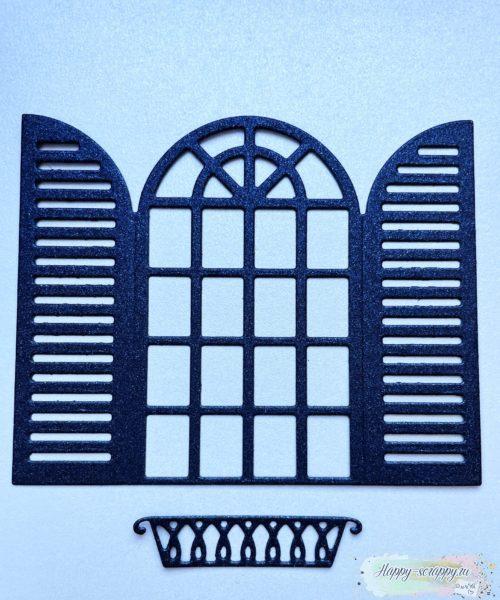 Окно с балкончиком
