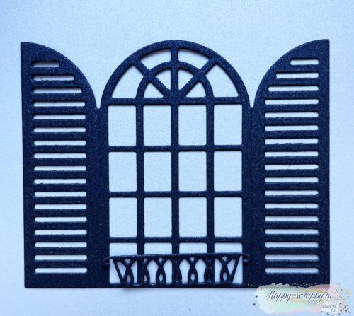 """Вырубка """"Окно с балкончиком"""""""