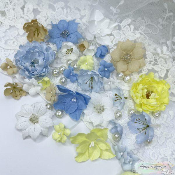 """Набор цветов """"Морской ветерок"""""""