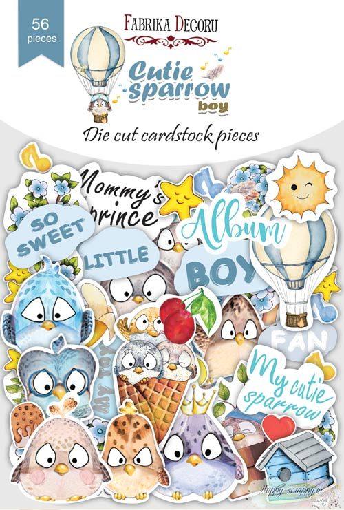 Набор высечек коллекция Cutie sparrow boy