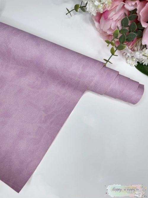 Переплетный кожзам матовый лилово-розовый