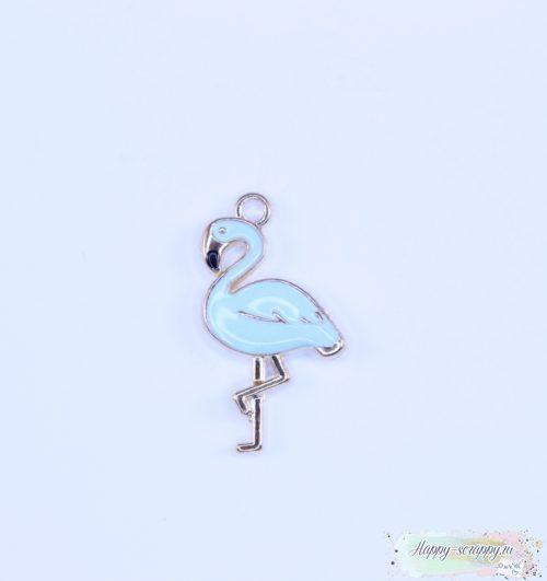 Подвеска фламинго мятный