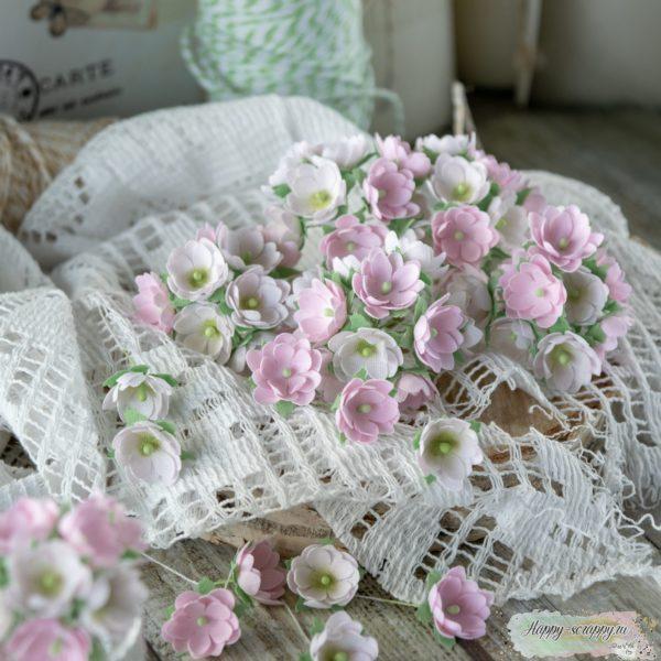 Набор цветов Pastel flowers — Малыши розовые