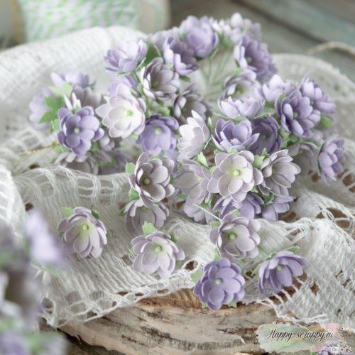Набор цветов Pastel flowers — Малыши сиреневые