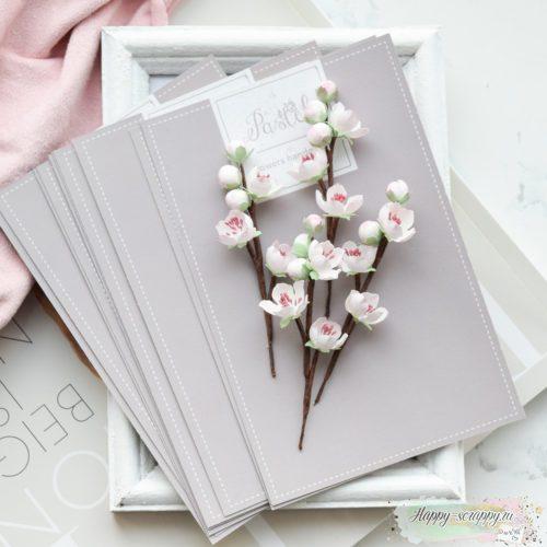 "Набор цветов Pastel flowers — ""Веточки вишни"""