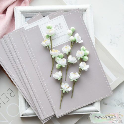 "Набор цветов Pastel flowers — ""Веточки яблони"""
