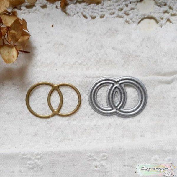 """Нож для вырубки """"Свадебные кольца"""""""