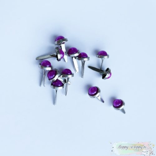 Брадсы жемчужные - малиновые (10 шт.)