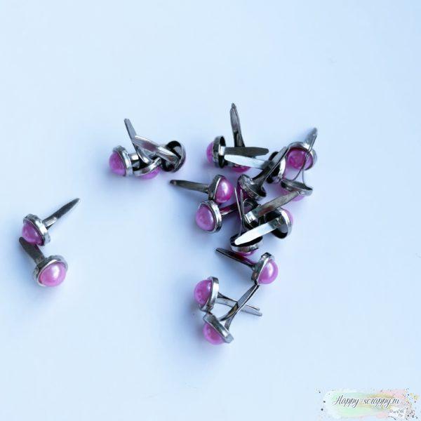 Брадсы жемчужные - розовые (10 ш