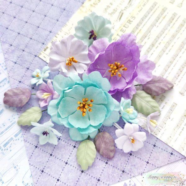 "Набор тканевых цветов ""Flowers Symphony"""