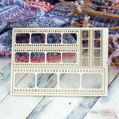 Чипборд из картона набор Кинопленка