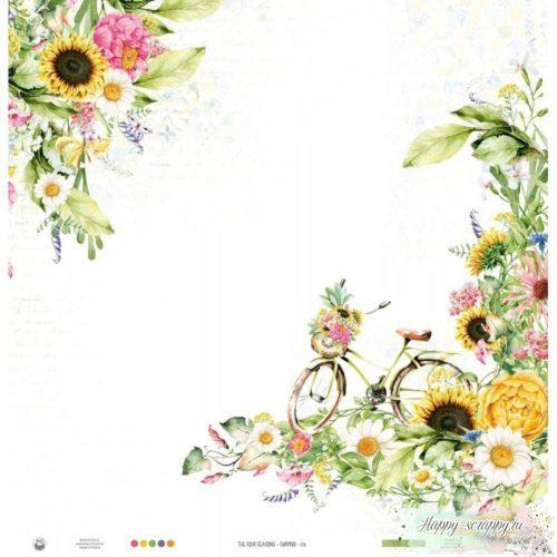 ЛИСТ ДВУСТОРОННЕЙ БУМАГИ THE FOUR SEASONS - SUMMER – 06 2