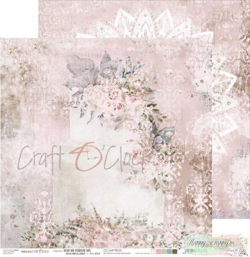 Лист двусторонней бумаги Love me forever -05 ОТ Craft O'Clock
