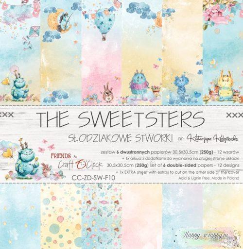 НАБОР БУМАГИ The sweetsters ОТ Craft O'Clock 30x30