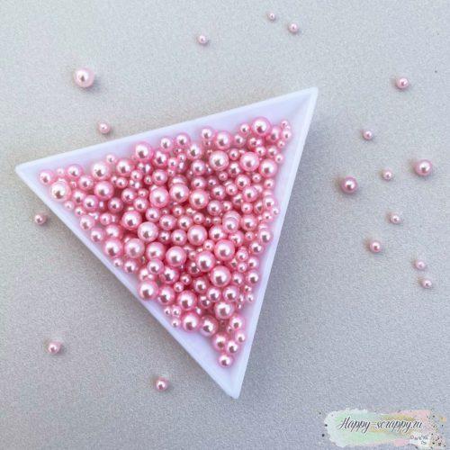 Жемчужины розовые