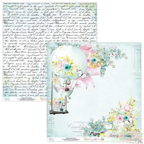 Лист двусторонней бумаги Happy place - 01
