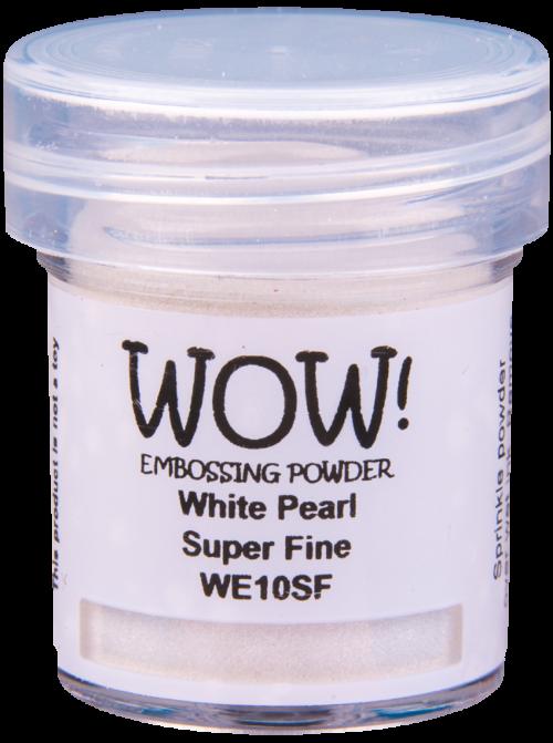 "Перламутровая пудря для эмбоссинга ""White Pearl - Regular"" от WOW"