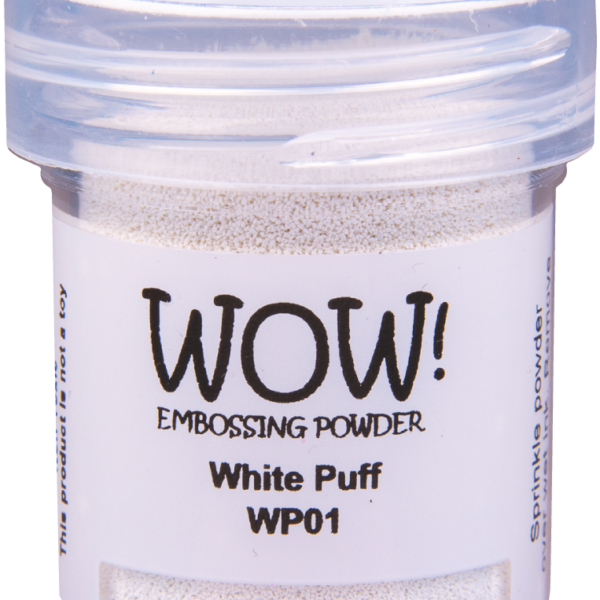 "Пудра для эмбоссинга для создания ""пухлости"" - White Puff от WOW"