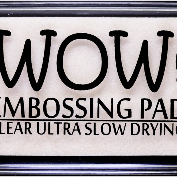"Подушка для эмбоссинга ""Clear Ultra Slow Drying Ink Pad"" от WOW!"